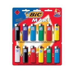 Bic Encendedor Maxi Blister X 12