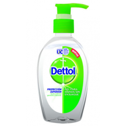 Jabón gel  liquido dettol  Original 200 ml