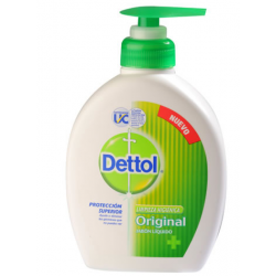 Dettol Jabon Liquido X 220ml Valvula Original Antibacterial