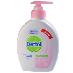 Dettol Jabon Liquido X 220ml Valvula Skincare Antibacterial