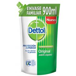 Dettol Jabon Liquido X 900ml Doy/ Original Antibacterial