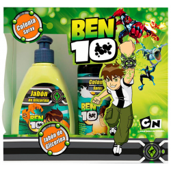 Estuche Ben 10 Jabon 360ml+Col Spray 260 Ml