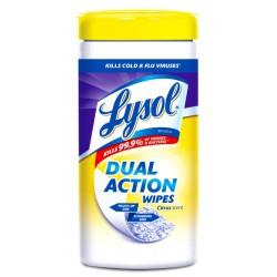 Toallitas Desinfectantes Lysol Dual Action