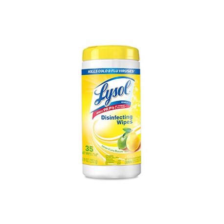 Lysol Toallas Desinfectantes Limón