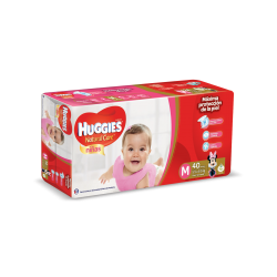 Huggies Natural Care Niña - M*40