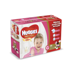 Huggies Natural Care Niña - G*36