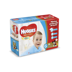 Huggies Natural Care Niño - G*36
