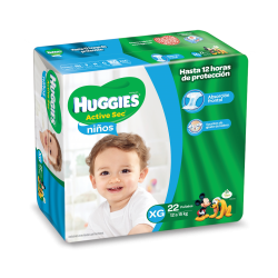 Huggies Active Sec - XG*22