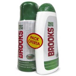 Talco Brooks Pack Cobre Spray 100 Ml + Polvo 80 Gr
