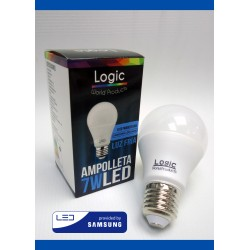 Logic Ampolleta Led Luz Fria 7w
