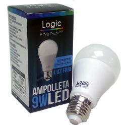 Logic Ampolleta Led Luz Fria 9w