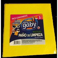 Doña Gaby Paño de Limpieza Multiusos 3U