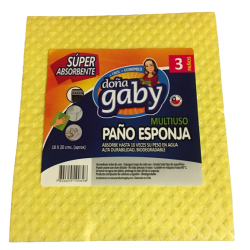 Doña Gaby Paño Esponja Multiusos 1U