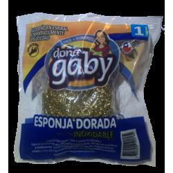 Doña Gaby Esponja Dorada Inoxidable 1U