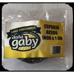 Doña Gaby Conveniente Esponja de Acero 1U