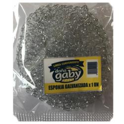 Doña Gaby Conveniente Esponja Galvanizada 1UN