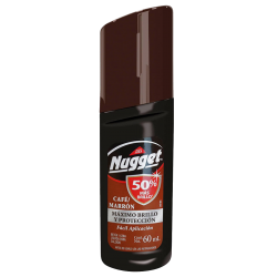 Betún liquido  nugget  60 ml Café displey * 18 un.