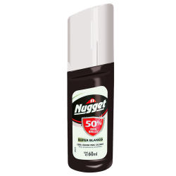 Betún liquido  nugget  60 ml blanco  displey * 18 un.
