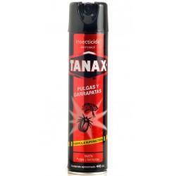 Tanax spray  pulgas y garrapatas  500 cc