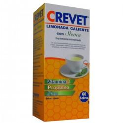 Limonada Caliente Crevet con Stevia 60 Sobres