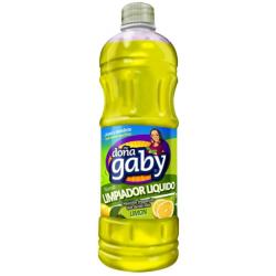 Doña gaby limpiador liq.* 900cc limon antibacterial