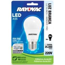 Rayovac led6.5w bi-volt warm ligth