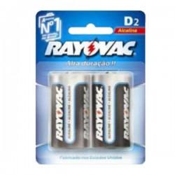 Rayovac pilas d alcalina blis. 2 un.