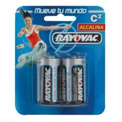 Rayovac pilas c alcalina blis. 2 un.