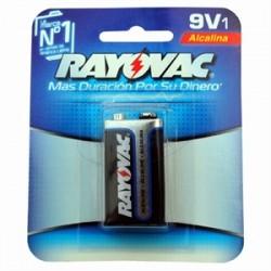 Rayovac bateria 9v alcalina blis. 1 un.