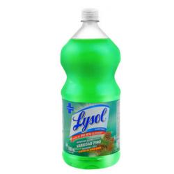Lysol x 1.8 lts limpiador pino