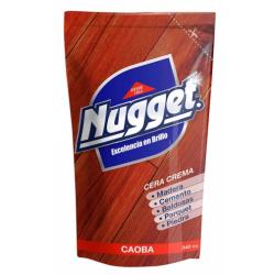 Nugget cera doy/crema 340cc caoba
