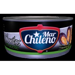 Choritos aceite 200cc mar chileno