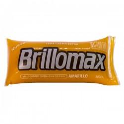 Cera brillomax 500cc amarilla