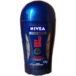 NIVEA BARRA VARON DRY IMPACT 43GR