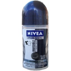 NIVEA ROLLON VARON INV ByW POWER 50ML