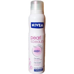 DEO NIVEA SP DAMA PEARL BEAUTY 150ML