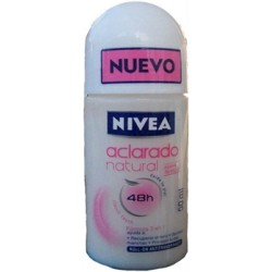 NIVEA ROLLON DAMA ACLAR NAT 50ML