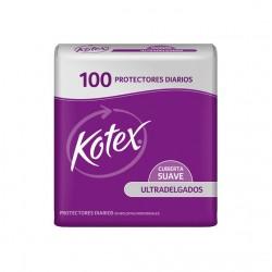 Protectores Kotex 100 Un Ultrad