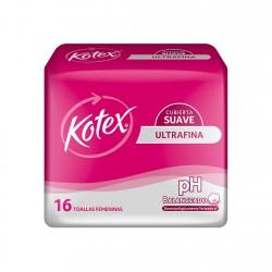 Kotex Ultrafina Suave *16