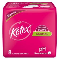Kotex Normal Suave Ph X 8