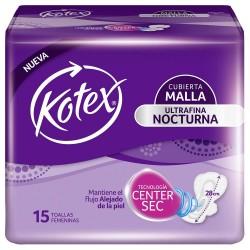 Kotex Ultraf/Noct X 15 Un