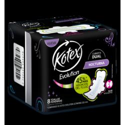 Kotex Evolucion Ultraf Nocturna X 8 Un.