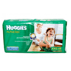 Huggies Active Sec Xxg*48