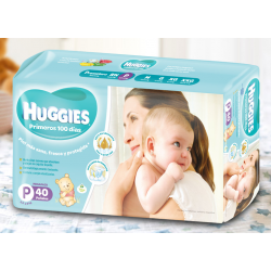 Huggies Active Sec P*40 Un.
