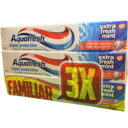Aquafresh Extra Fresh Mint 85 Gr X 3