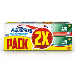 Aquafresh Soft Mint 85 Gr X 2