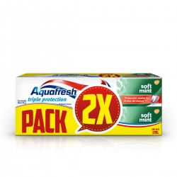 Aquafresh Soft Mint 158 Gr X 2