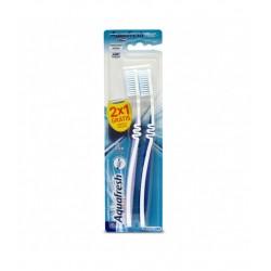 Cepillo Dental Aquafresh 2 X1 Medio
